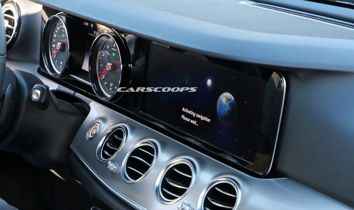 All-new 2016 E-Class interior revealed in most explicit photo yet