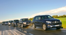 2016 GLE versus every possible contender in mammoth Auto Bild test