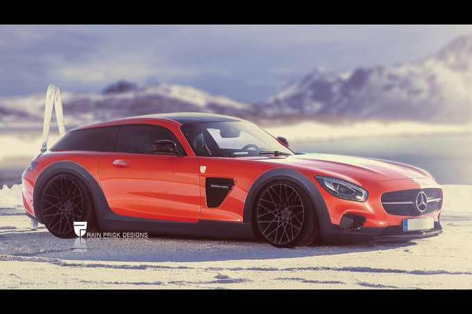 Mercedes-AMG GT Shooting Brake artist impression