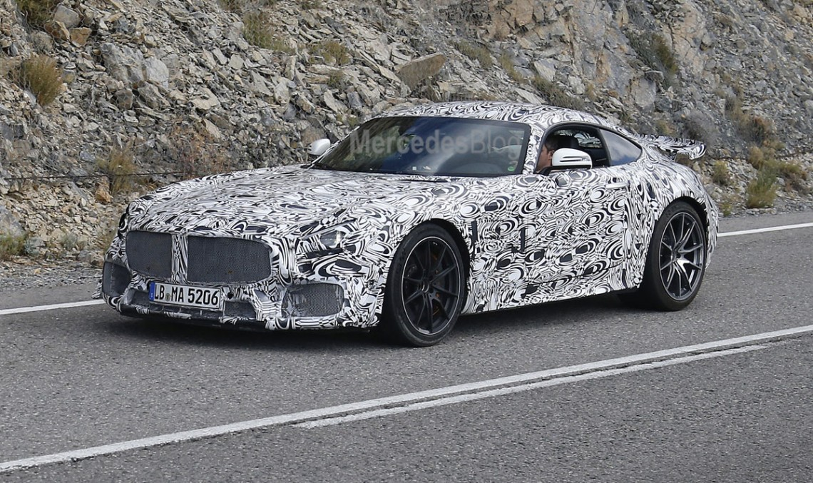 Street legal Mercedes-AMG GT3 revealed – new spy pics