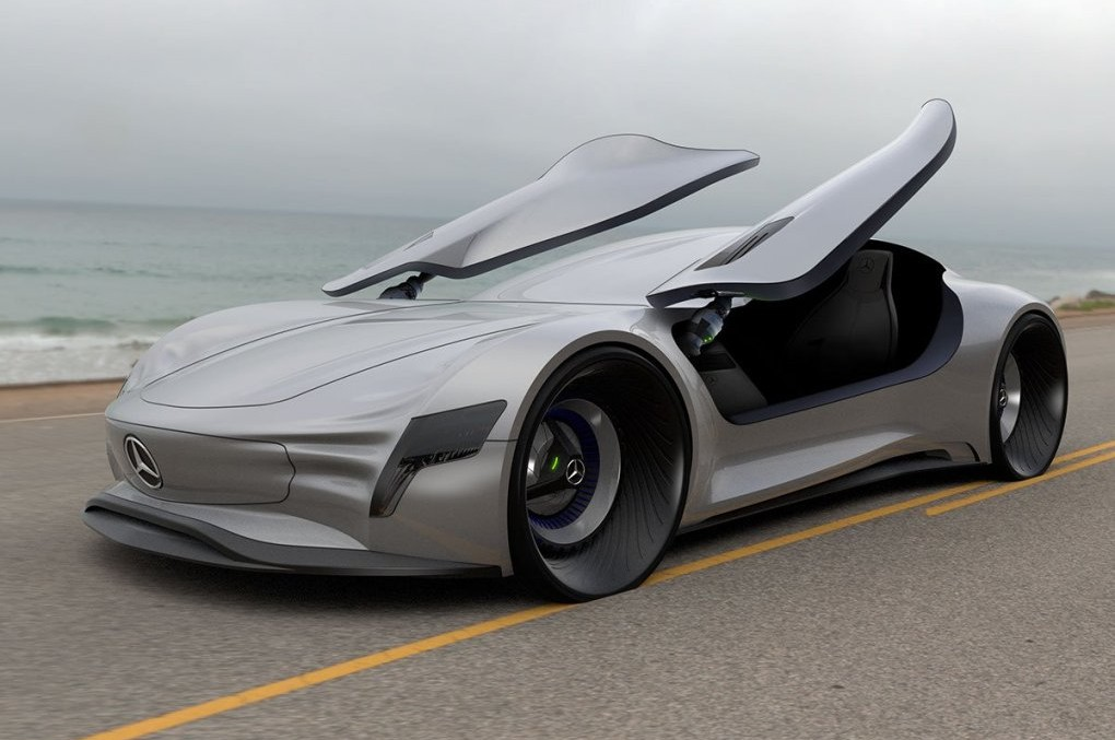 The future is now – Mercedes-Benz SLPURE Concept
