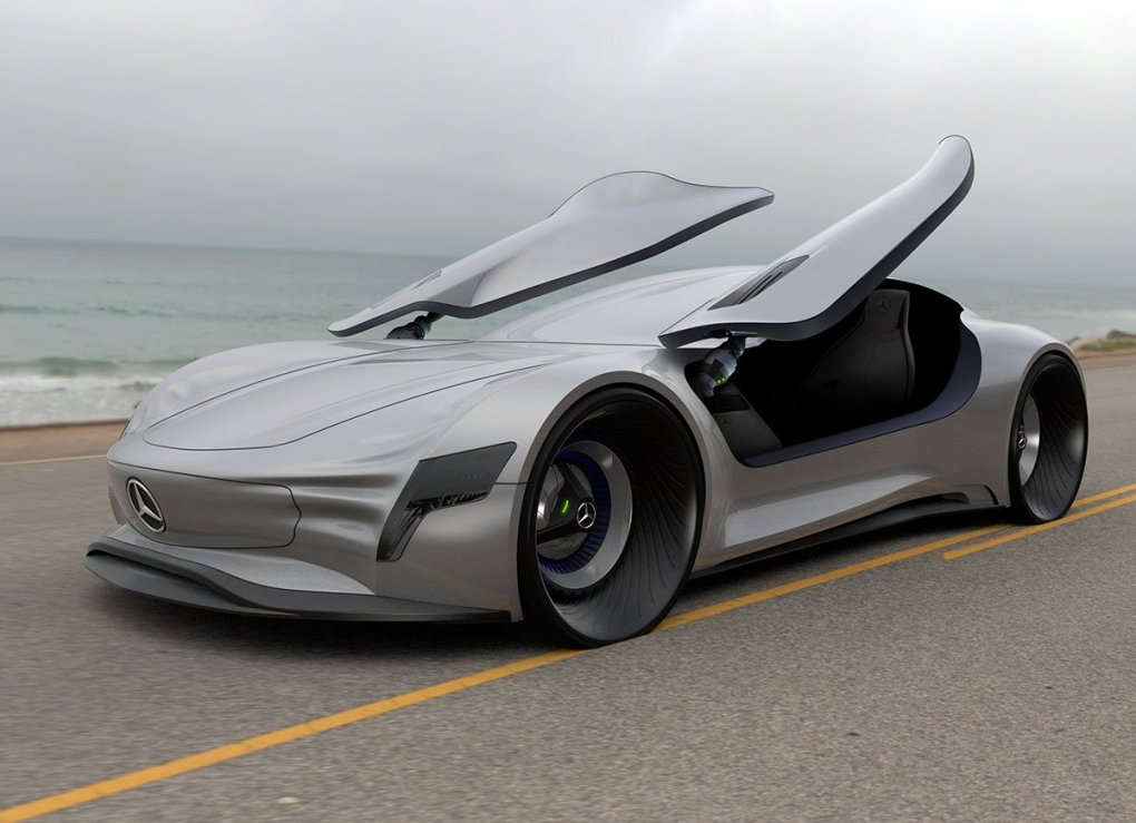 The future is now - Mercedes-Benz SLPURE Concept ...