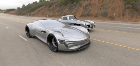 Mercedes-Benz SLPURE Concept
