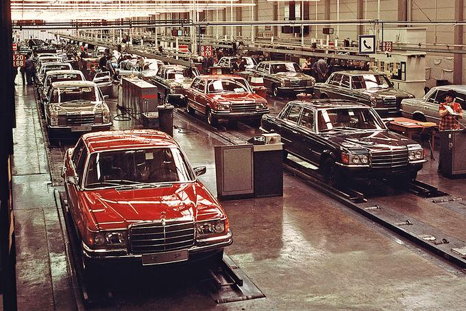 100 years Daimler in Sindelfingen
