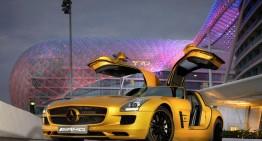 The mirage of the desert – the Desert Gold SLS AMG