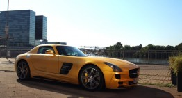A comet in Germany – the Mercedes SLS AMG GT