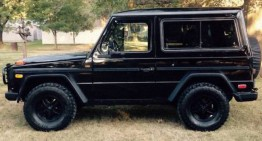 "G-Class formerly belonging to Tina Turner is for sale. ""Simply the best"""