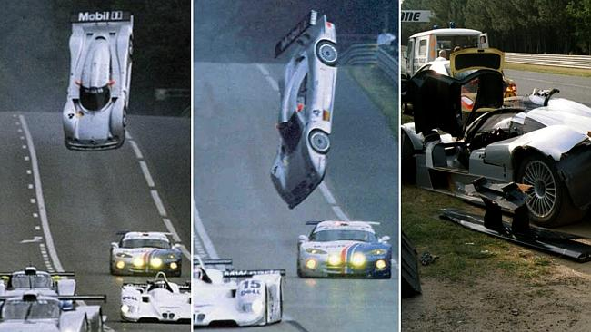 TOP FOUR HORROR Mercedes crashes in racing history (video)