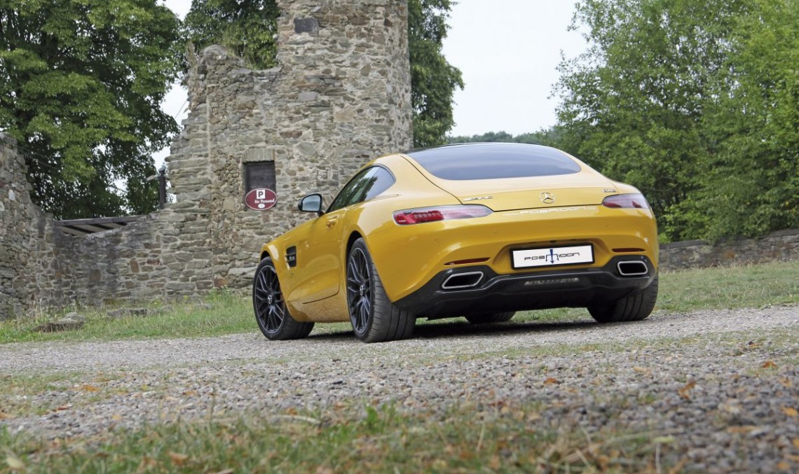 Meet the insane 700 hp Posaidon Mercedes-AMG GT