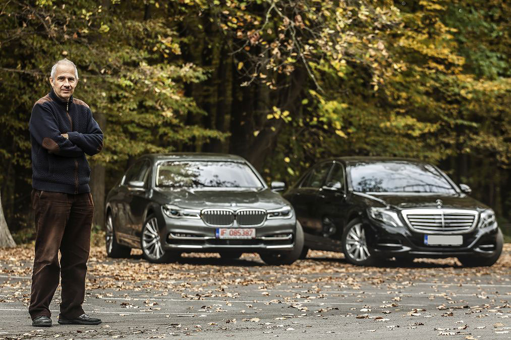 Exclusive First Comparison Test Mercedes Benz S 500