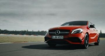The Dresden roar – Mercedes A 45 AMG 4MATIC