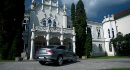 Autumn fairy tale. Mercedes-Benz GLE 350d 4MATIC