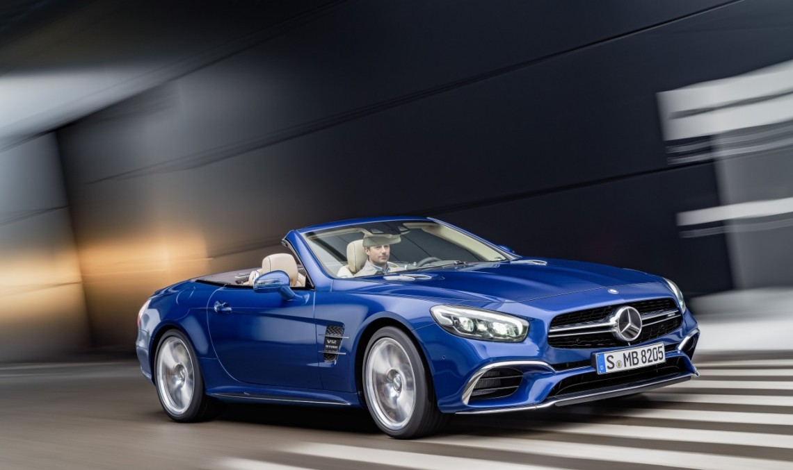 Mercedes SL next generation, under the AMG comand