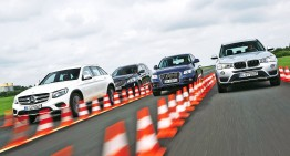Comparison test Mercedes-Benz GLC vs Audi Q5, BMW X3, Volvo XC60