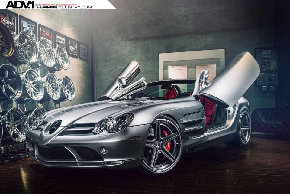 The Mercedes-Benz SLR McLaren – the classic of tomorrow with ADV1 Wheels