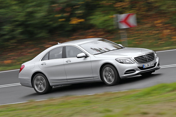Mercedes S 500 vs BMW 750i, Audi A8 4.0 TFSI (2)