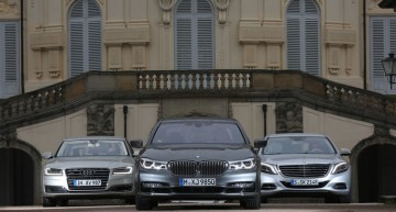 Comparison test: Mercedes S 500 vs BMW 750i, Audi A8 4.0 TFSI by auto motor und sport