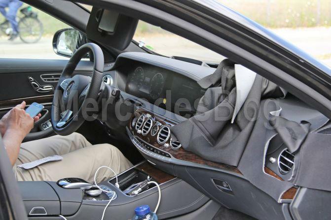 ercedes S-Class facelift 2017 (1)
