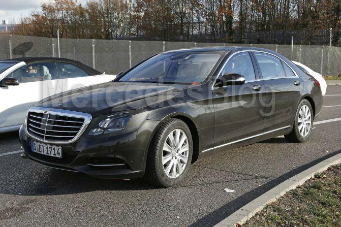 Exclusive: Mercedes-Benz S-Class facelift