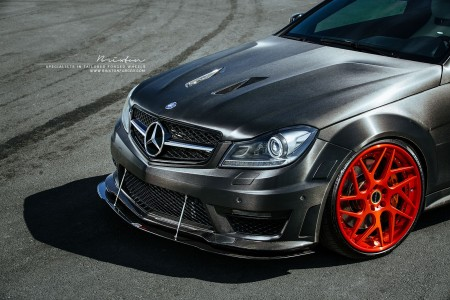 Mercedes-Benz C63 AMG Brixton Wheels