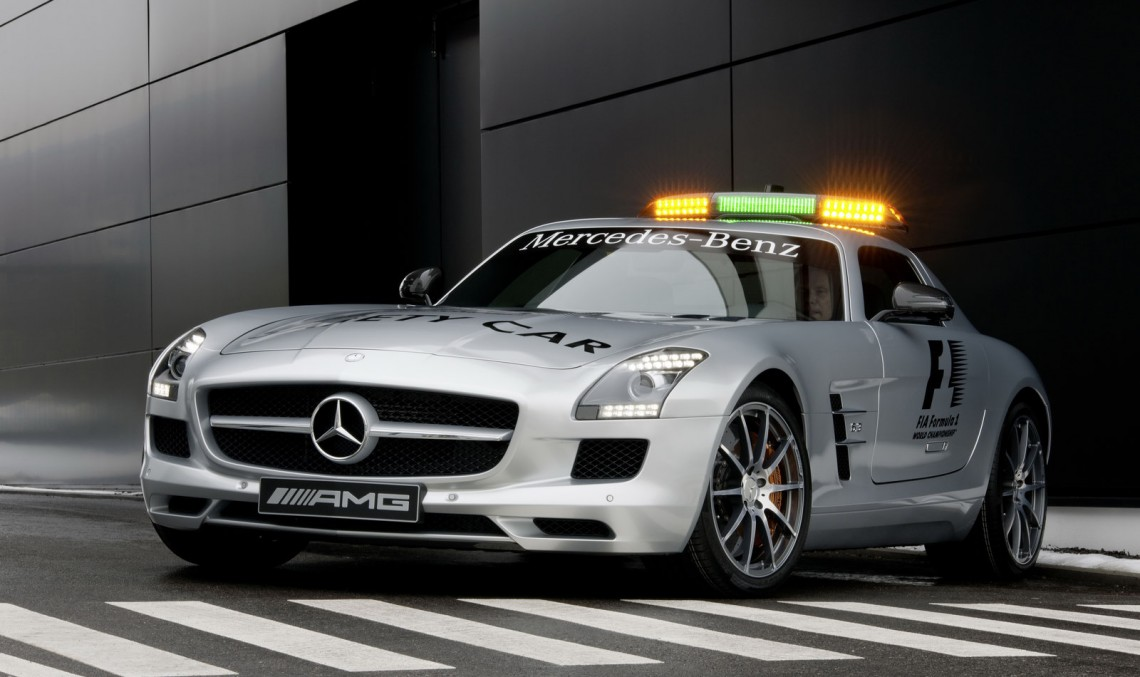 Mercedes-Benz keeps motorsports safe. Coolest safety cars ever made