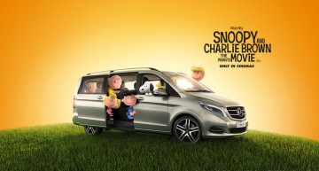 Beagle on board – the V-Class makes its big-screen debut in 3D animation