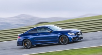 VIDEO Mercedes-AMG C 63 S Coupe plays on the Ascari race track