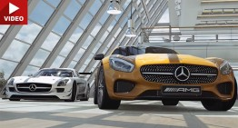 2016 Gran Turismo Sport trailer is here. Mercedes-AMG GT included