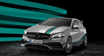 Special edition Mercedes-AMG A 45 celebrates Formula 1 success year