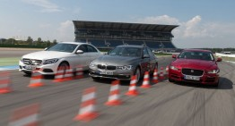 Medium-rare, please! Updated 3-Series vs C-Class and XE in AMS showdown
