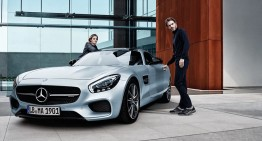 The Mercedes-AMG GT stars in the latest Santoni for AMG campaign