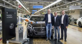 Mercedes-Benz S 500 e: the 20 millionth car manufactured in Sindelfingen (with video)