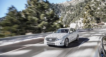 It's got a mind of its own – the new Mercedes-Benz E-Class set free on the road