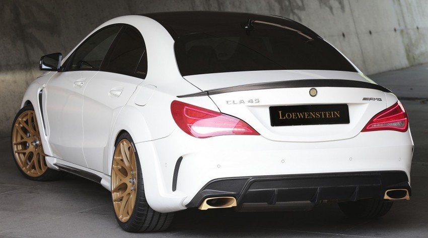 love it or hate it the mercedes benz cla 45 amg by loewenstein mercedesblog. Black Bedroom Furniture Sets. Home Design Ideas