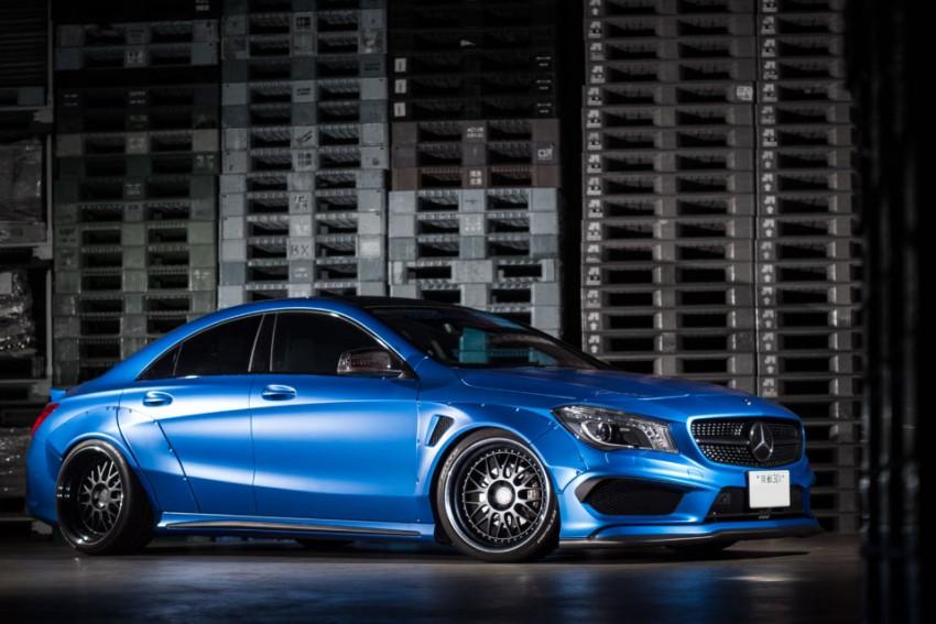 Not a fairy, but a beast – Mercedes-Benz CLA by Fairy Design
