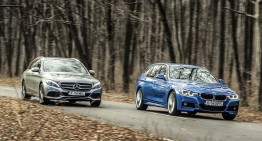 Comparative test: Mercedes C 220 d T-Model vs BMW 320 d Touring xDrive