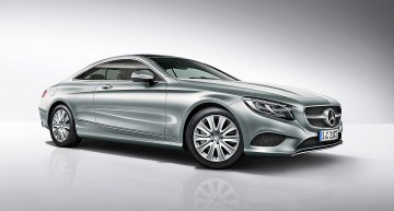 New member for the S-Class family: Mercedes-Benz S 400 4Matic Coupe