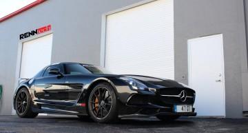 Renntech Mercedes-Benz SLS AMG Black Series