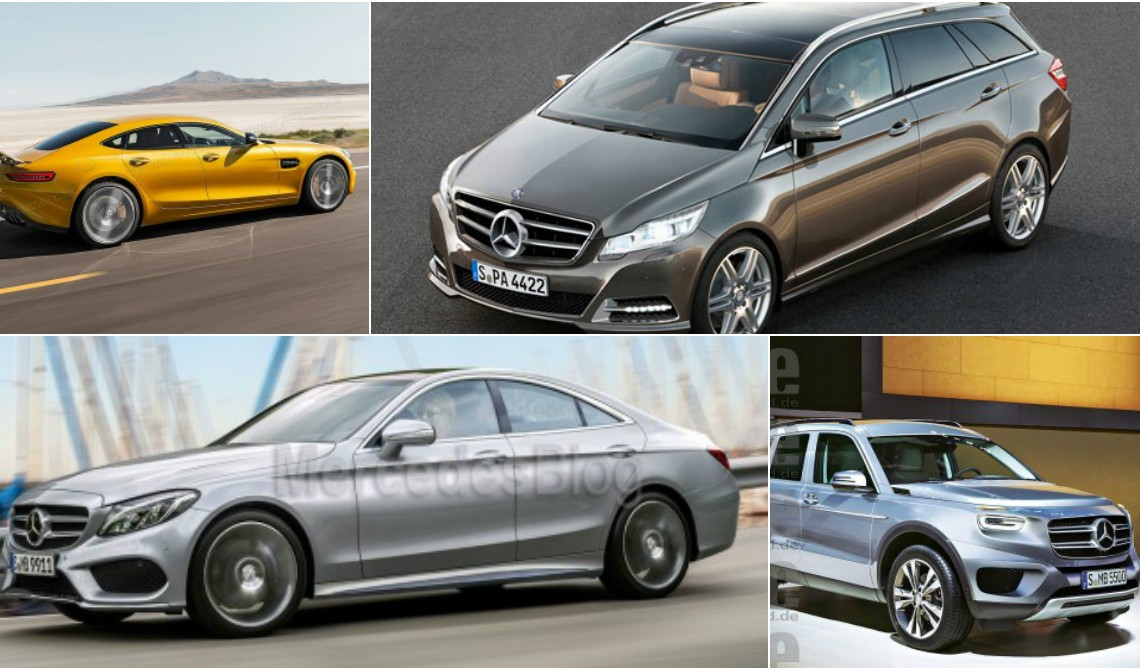 TOP 10 NEW Mercedes models without a direct predecessor