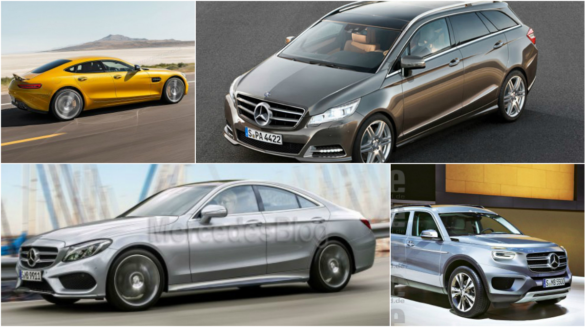 Top 10 new mercedes models without a direct predecessor for Mercedes benz upcoming models