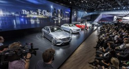 NAIAS REPORT. Live video tour of the Mercedes-Benz stand in Detroit