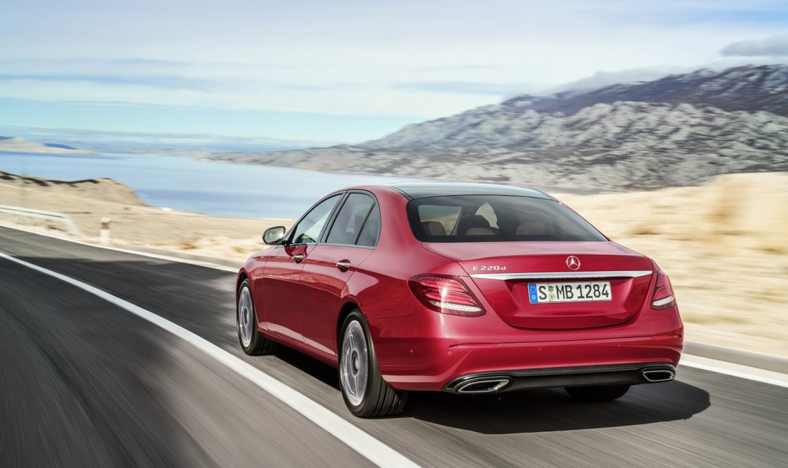Classy colors for the new Mercedes-Benz E-Class