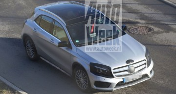2017 Mercedes GLA facelift unveiled in new spy pics