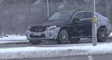 2017 Mercedes GLC Coupe video surfaces online