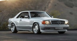 Legendary Mercedes SEC comes back to life as a 4-door coupe