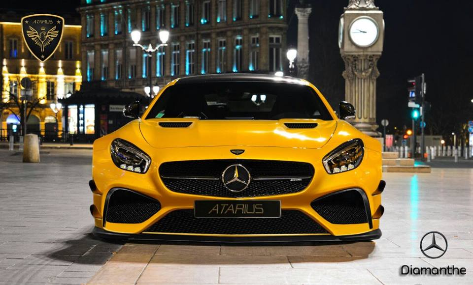 Mercedes Amg Gt By Atarius Concept This Beast Is