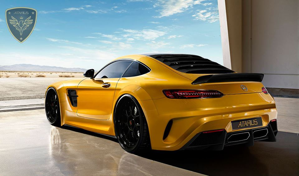 Mercedes-AMG GT by Atarius Concept – This beast is ...