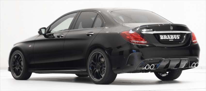 brabus tuned the mercedes amg c 43 even before it was. Black Bedroom Furniture Sets. Home Design Ideas