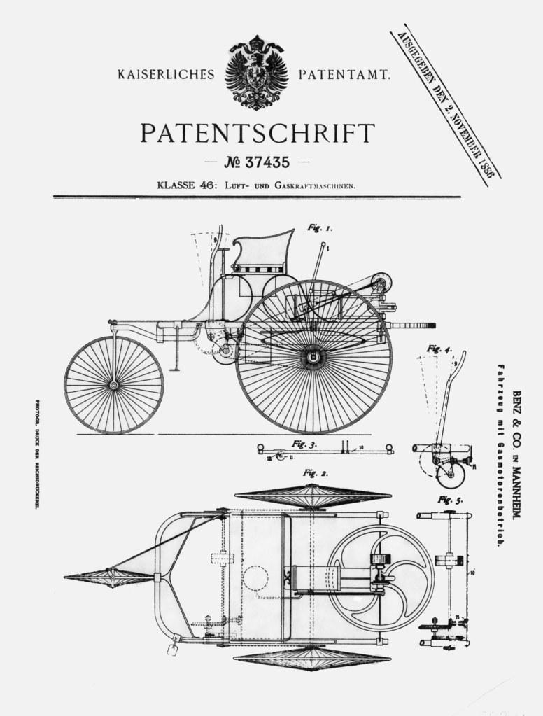 Karl Benz first automobile (3)