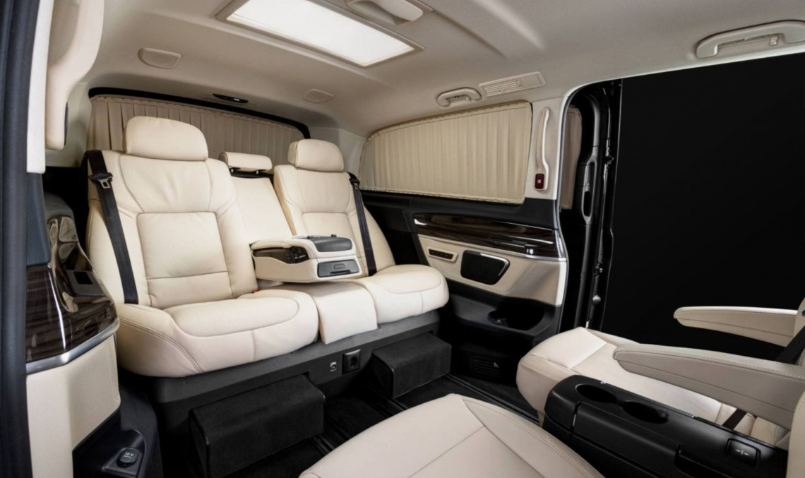 REDLINE Engineering turns the V-Class into a mobile office